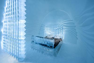 Снежный отель «Ice Hotel» в Швеции или сказочный отдых под северным сиянием