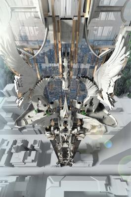 Кхалиси увековечат в Нью-Йоркском небоскребе в стили фэнтази