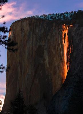 Февральское «извержение» в парке Йосемит