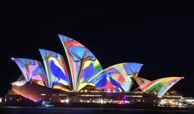 Ночной Сидней приглашает на фестиваль света!