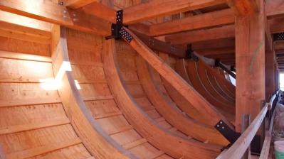 Точная копия «Ноевого ковчега» станет ключевым экспонатом нового парка в Кентукки